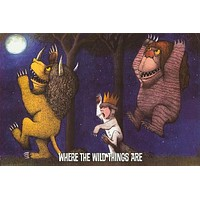 Where the Wild Things Are Moon Dance Poster 24x36