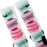 Macaroons Rainbow Custom Nike Elite Socks