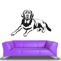 Wall Vinyl Decal Sticker Bedroom Decal Decal Kids Baby Dog  z399