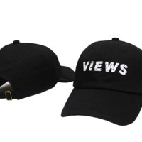 Views Embroidered Baseball Cap Hat