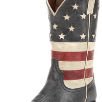 Women's Colt Ford Stars & Stripes Boot - Aged Blue Jean