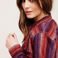 Free People Eyes On You Buttondown Top