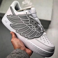 """Trendsetter Nike Air Force 1  """"Saraphines""""  Women Men Fashion Casual Old Skool Shoes"""