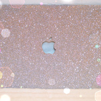 MacBook Pro Glitter Case (SILVER)