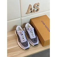 Louis Vui*ton Men Fashion Boots fashionable Casual leather Breathable Sneakers Running Shoes