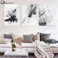 Modern Abatract Art Minimalist Canvas Poster Painting Watercolor Realist Art Wall Picture Print Home Living Room Decoration 306
