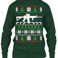 Ar 15 Ugly Christmas Sweater