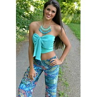 Mermaid City Yoga Pants