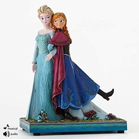 Disney Traditions by Jim Shore Frozen Elsa and Anna Sisters Forever-4049101