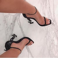 Opyum Sandals High Heels Shoes