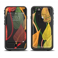The Colorful Pencil Vines Apple iPhone 6/6s LifeProof Fre Case Skin Set