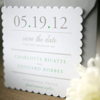 Scallop Save the Dates