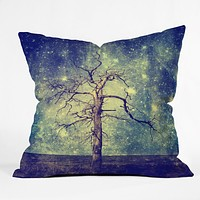 Belle13 As Old As Time Throw Pillow