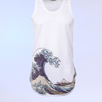 UNDER THE WAVE Tank Top