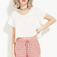 Geo Print Shorts - New Arrivals - 2000185682 - Forever 21 UK