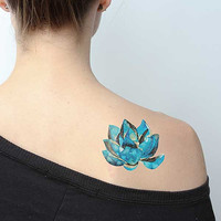 Victory of the Spirit - Temporary Tattoo (Set of 2)