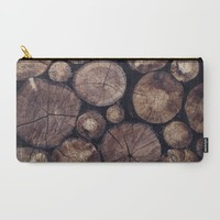 The Wood Holds Many Spirits // You Can Ask Them Now Edit Carry-All Pouch by Tordis Kayma | Society6