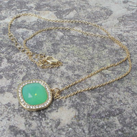 Pacific Jade Necklace