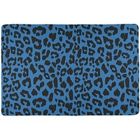 Blue Cheetah Print All Over Placemat