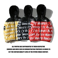 Supreme x The North Face Hooded Fashion Tops Jacket Coat