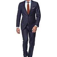 Traje Azul Rayas Sienna P3709i   Suitsupply Online Store