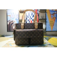 LV Louis Vuitton MONOGRAM CANVAS MICHAEL HANDBAG SHOULDER BAG