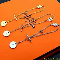 Hermes Newest Women Simple Bracelet Hand Catenary Jewelry Accessories