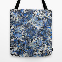 blue mist Tote Bag by SpinL