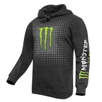 ONE INDUSTRIES MONSTER MATRIX PULLOVER HOODIE -BLACK- SMALL --36023-001-051