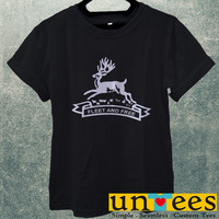 Black Stag Fleet and Free Men T Shirt