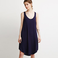 Sleeveless Cut-Out A-Line Mini Dress