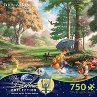 Thomas Kinkade - Disney Collection - Winnie the Pooh Jigsaw Puzzle