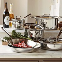 All-Clad d5 Stainless-Steel 10-Piece Set