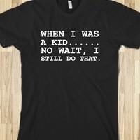 WHEN I WAS A KID.... - Get in my Closet
