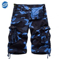 Summer Men's Tactical Military Shorts Outdoor Male Sports Climbing Overalls Cargo Straight Loose Beach Short Trousers Bottoms