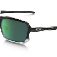 NEW Oakley - Triggerman - Sunglasses, Polished Black / Jade Iridium, OO9266-02