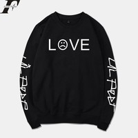 BTS 2018 Lil Peep Spring Hoodies Men/Women Sweatshirt Streetwear Fashion R.I.P Tracksuit Loose Hoodie Sweatshirt Unisex clothes