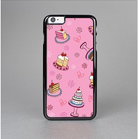 The Pink with Yummy Cakes Skin-Sert for the Apple iPhone 6 Plus Skin-Sert Case
