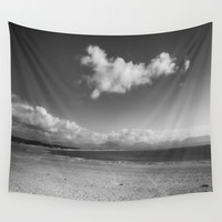 All Alone Wall Tapestry by Ian Mitchell