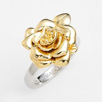 Women's MARC BY MARC JACOBS 'Jerrie Rose' Flower Ring
