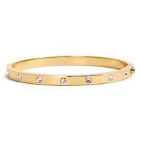 Kate Spade crystal hinge bangle