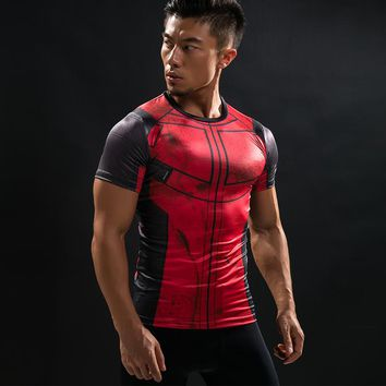 Deadpool Compression T-shirts