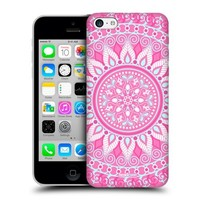 Head Case Designs Pink Parade Mandala Hard Back Case Cover For Apple iPhone 5c