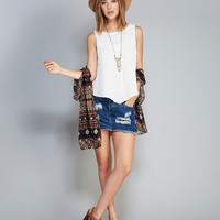 Contempo Casuals™ Crocheted Tank | Wet Seal