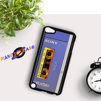 Awesome Mix Tape Vol 1 Sony Walkman iPod Touch 6 Case Planetscase.com