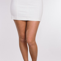 Free People Modern Femme Skirt - White