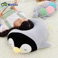 Plush Stuffed Ocean Animal Penguin Turtle Pillow Doll Baby Kids Toys for Girls Children Birthday Gifts Metoo Doll