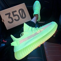 ADIDAS YEEZY 350 V2 luminous starry casual sneakers shoes-6