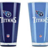 Tennessee Titans Tumblers - Set of 2 (20 oz)