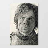 Tyrion Lannister Stretched Canvas by Scottmitchell